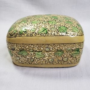 Handed Painted Lidded Box India Global Decor India